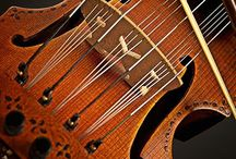 Guitars & Violins / I love music & musical instruments that have character, not just for what they are but also by Design...