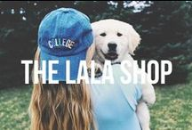 THE LALA SHOP / All the newest and cutest goods from thelalashop.com