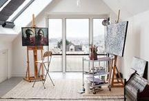 Art studio / työhuone