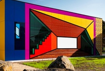 Colorful Cladding  / Cladding, Facades, Weatherboard, rainscreen Cladding, external cladding,aesthetic cladding, facade cladding #Architects #interiordesigners #industrialdesigners #landscapedesigners #contractors #builders #homebuilders #UnitedKingdom #Dubai #Kuwait