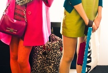 Canvas  / .:: Fashion in color. Fear not color. #StyleInColor #DressColorfully #ColorfulStyle #ColorBlocking::.