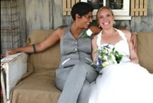 And the Bride Wore a Suit.... / Lesbian weddings: wedding suits for women... Original wedding  designs by Dangerous Mathematicians for same sex ceremonies.