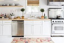 Kitchen Design / Browse photos of kitchens and discover trendy countertop, cabinet and backsplash materials, as well as stoves, sinks, refrigerators, ranges and islands for your remodel.