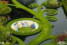 Garden Patios / Places to sit / by Chris Kelz