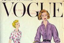 1950's fashion patterns / 50's vintage patterns / by Anna G.