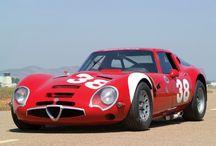 Classic race cars