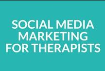 Social Media Marketing for Private Practice Therapists / Articles, tips & tricks to help you learn about marketing your counseling, therapy or other private practice on social media.