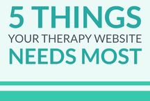 Creating Content for your Counseling Website / Sometimes it's a pain in the butt to come up with good content for your therapy website. These pins to the rescue! | content marketing, therapy website content, content marketing for therapists, content marketing for counselors, writing content