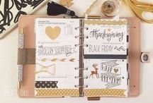 ✔️ Perfect Planning ✔️ / A place for me to collect ideas, printables and designs for my Erin Condren planner
