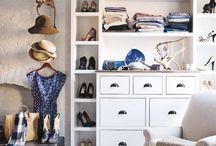 Organise / Closets, shelving & libraries