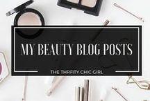 BEAUTY BLOG POSTS / Featuring all beauty posts by me