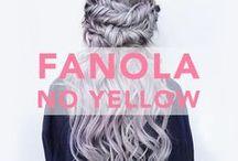 ✖ FANOLA NO YELLOW ✖ / Rated #1 toning shampoo globally! Shop Fanola- No Yellow shampoo here:  http://bit.ly/2s5ae5o