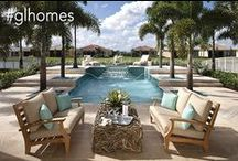 Outdoor Spaces / Gorgeous patios, pools, landscaping and backyards to envy / by GL Homes - New Homes in Florida