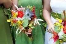 Farm house wedding 2013 / Wedding floral for a farm wedding designed by Twin Cities wedding florist, Artemisia Studios