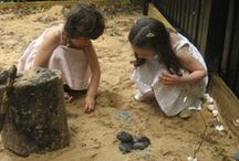 nature play / Nature is such an inspiration! Here are some cool activities and games!
