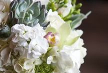 Aster river room / Wedding flowers for ceremony and reception. Floral designed by Twin Cities wedding florist Artemisia Studios