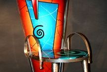 Furniture - Unusual, unconventional, painted, crazy, fun / by Helen Randall