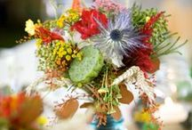 Floral Centerpieces / Ideas on how to incorporate flowers into your wedding centerpieces designed by Twin Cities floral studio, Artemisia Studios.