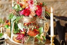 Floral Decor / Ideas on how to use flowers to decorate ceremony pieces and the reception area. Designed by Twin Cities floral, Artemisia Studios.