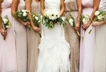 Bridesmaids Bouquets / Inspiration for smaller bouquets for the bridesmaids, designed by Artemisia Studios, Twin Cities wedding florist.