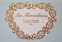 LADUREE / Ladurée is a French luxury bakery and sweets maker house created in 1862. It is one of the top premier sellers of the double-decker macaroon, fifteen thousand of which are sold every day.  / by Nelly