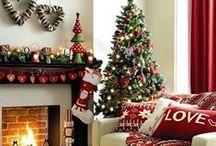 NATALE ★ Christmas ★Xmas ★ / Tante idee per gli ornamenti di casa nel periodo natalizio, spunti per abbellire il proprio albero e...