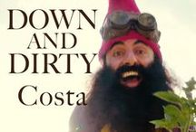 Costa the garden gnome - Get down and dirty! / Curious about what garden gnomes really get up to? Costa Georgiadis, is taking a surprise deviation in life with a hairy ride down a new and dirty track, in his debut single and music video 'Down and Dirty', available to download from 1 December. Costa firmly plants the love of soil, along with a couple of seedlings as he gets down and dirty around some of Australia's biggest icons.