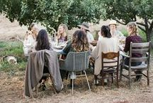 INTIMATE GATHERINGS | / Inspiration for hosting an intimate gathering with loved ones.