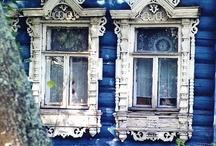 beautiful building details / https://www.facebook.com/RebeccaYoxallArt