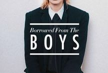 Androgyny / Styling / Wish List / by 10's