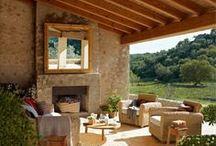 Fabulous outdoor rooms / porches, patios, gardens