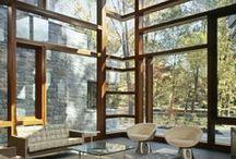 Glass walls  / Beautiful glass walls