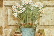 Картинки (сад) / Картинки для декупажа и скрапа на садовую тематику