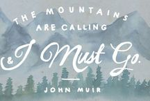 The call of mountains / For nature lover ❤  All about backpacking