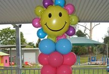 Balloon Columns / Our collections of Normal and Wacky Balloon Columns