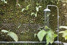 Inside Out / Bringing nature inside or living spaces into nature, great supporters of biophilic design!
