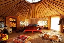 Glamping / When nature and luxury coincide
