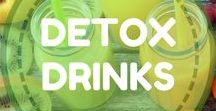 Detox Drinks / Detoxing with various beverages is a great way to help give your body the nutrients it's really craving, and can give your digestive system a break from having to break down and digest food. The liver is the most important detoxifying organ in the body, so it only makes sense to drink fruits and vegetables to help it function at its best. Here is a list of detox drink recipes that can be incorporated into any detox program you're following, or just enjoyed for their health benefits.