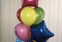 Balloon Bouquets / 3 and 5 helium balloon bouquets