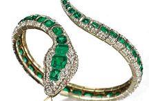 SERPIENTES, JOYERIA DE LUJO. / Joyeria de calidad con bellos diseños en brazaletes, anillos, relojes, etc.