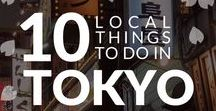 Tokyo - Top things to do / Top recommended things to do, see and experience in Tokyo