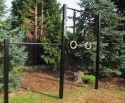 Venkovní hrazda-workout parky