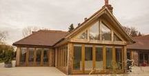 Oakmasters - Oak Extensions / Oak extensions to existing homes by Oakmasters