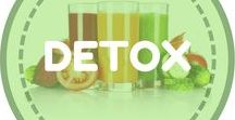 DETOX / Flush the toxins out of your body and speed up weight loss with these detox foods, drinks, recipes, cleanses, clean eating, detox waters, teas, smoothies, and meals! Detoxify the body to lose weight and/or just look and feel healthier!