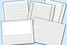 Homeschool Printables / Homeschool printables and free downloads.