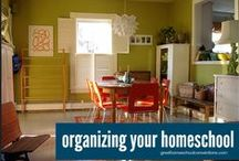 Homeschool Rooms & Spaces / Inspiration for setting up your homeschool room or space