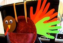 Thanksgiving / Ideas for celebrating Thanksgiving with kids.