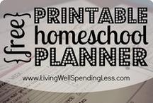 Homeschool Planners   Homeschool Schedules / Homeschool planners and examples of homeschool schedules.