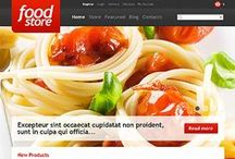 Food & Drink Web Templates / Show your Food & Drink passion to everyone or change that passion into webstore - browse for WordPress, Joomla, Flash, Facebook, PrestaShop and many more premium templates!