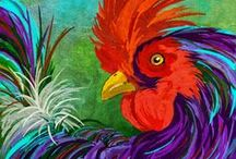 ARTWORK (Hens & Roosters) / by Karen Baker